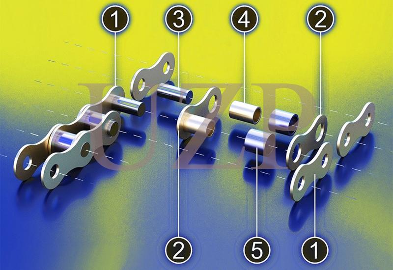 Конструкция роликовой цепи